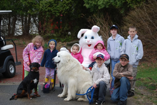 Little Hunters visited The Devereux Glenholme Hare