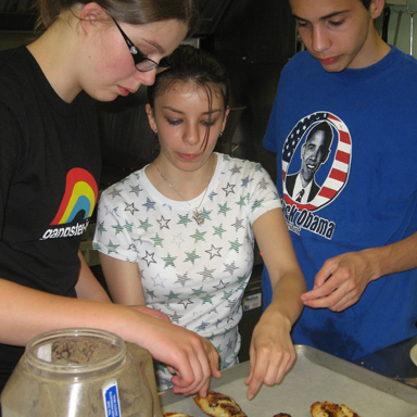 Glenholme students cook up excitement in Iron Chef
