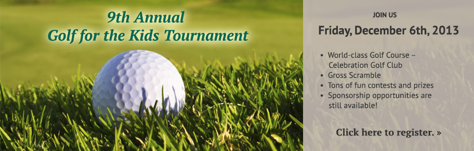 9th Annual Golf for the Kids Tournament