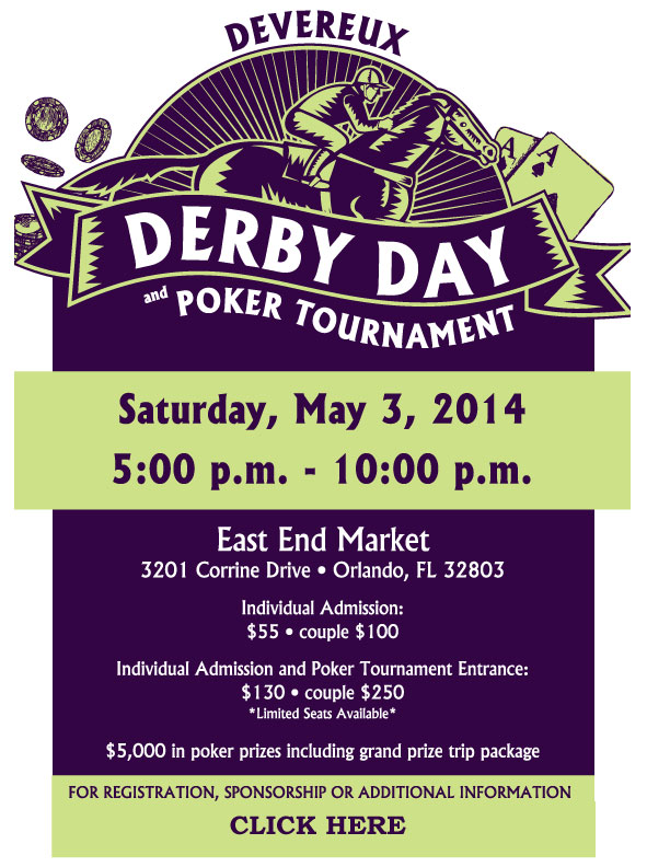 Derby Day Event Flyer