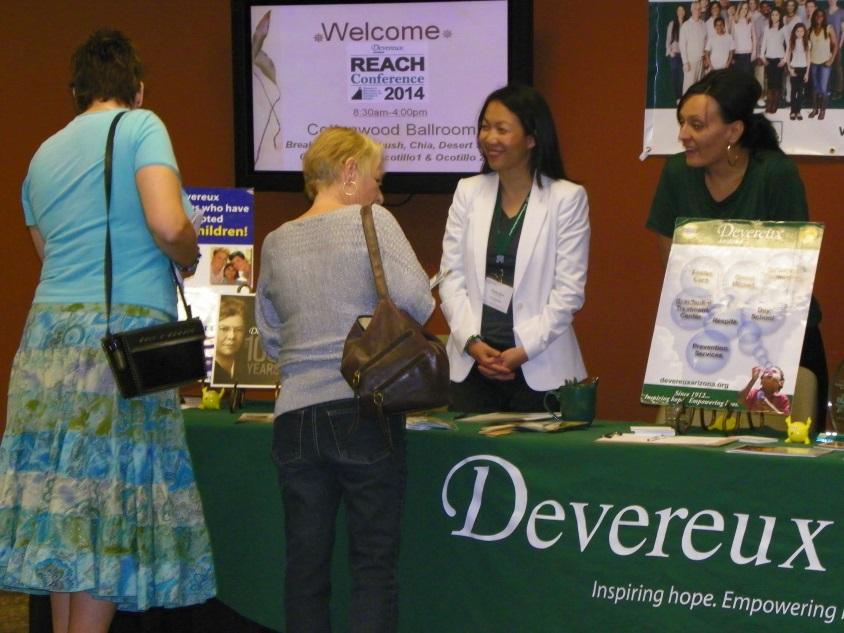 REACH Conference Attendees Learn About Devereux Services