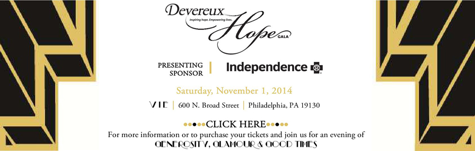 Devereux Hope Gala
