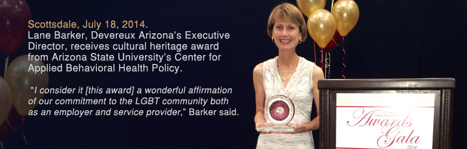 Executive Director of behavioral health provider, Devereux, honored for commitment to LGBT community