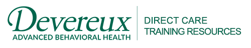 Devereux Advanced Behavioral Health Direct Care Training Resources