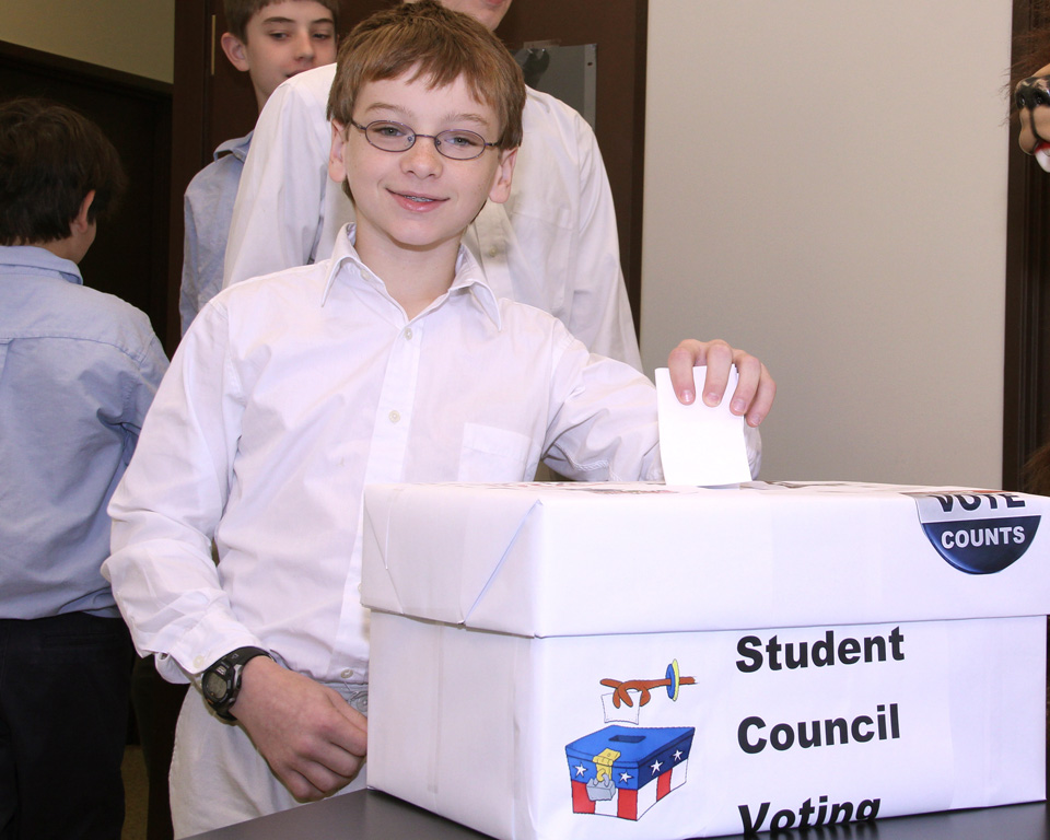 A Big Ballot Box Smile