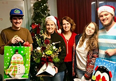 Giving back: Family brightens holiday season for youth at Devereux Pennsylvania CIDDS