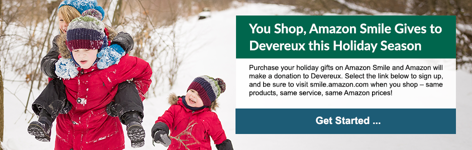 Amazon Smile Gives to Devereux this Holiday Season