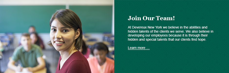 Careers at Devereux New York
